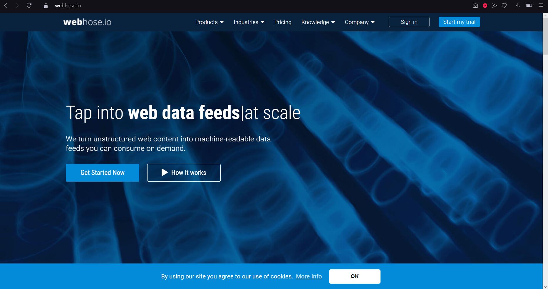 webhose.io news