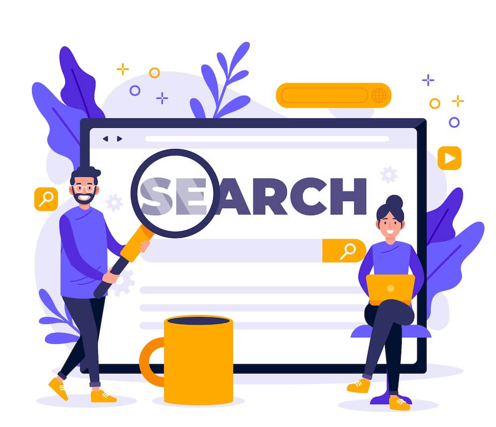 choose search filters
